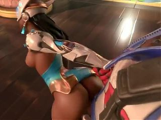 Symmetra gets sexual healing