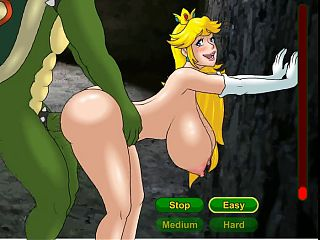 Hentai sex game princess Peach is a prisioner (Nintendo)