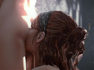 The Last of Us - Ellie and Tess