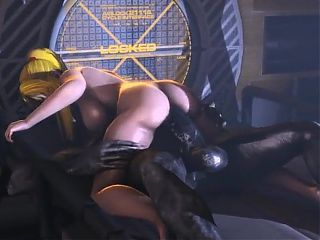 samus sex with alien