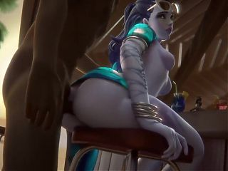 widowmaker, anal beach