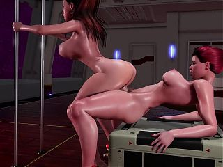 Futa x Female - Anal Workout (redapple2)