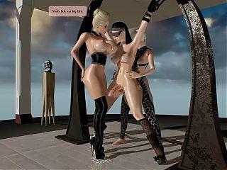 3D Futanari Collection 35