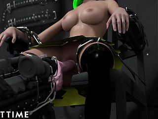 ADULT TIME Hentai Sex School - Giantess and Schoolgirl Bondage