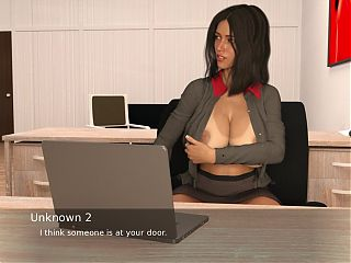 Project Hot Wife - Office orgasm (51)