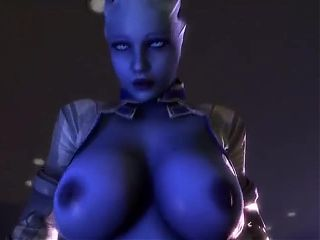 Liara knows how to ride