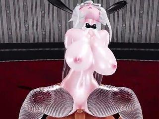 MMD. Sexy Bunny