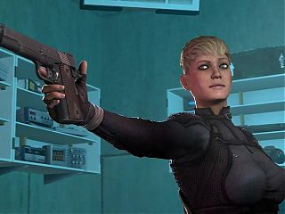 Cassie cage having fun