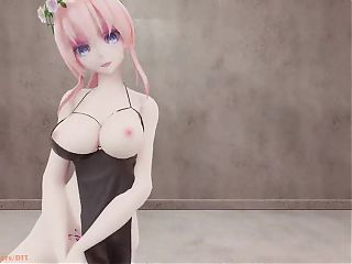 MMD Luka and miku - Chocolate Cream